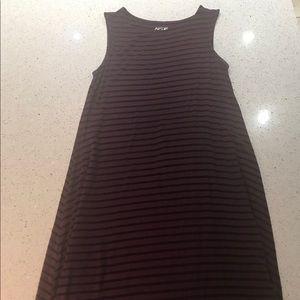 Apt 9 stripped dress size medium